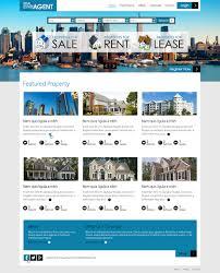 Latest Website Design Ideas Modern Professional Real Estate Web Design For A Company
