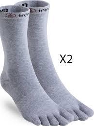 Injinji Liner Socks Size Chart Injinji Ultra Lightweight Crew Liner Toe Socks Inj Lw Lin