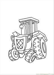 Small Picture Travis Coloring Page Free Bob the Builder Coloring Pages