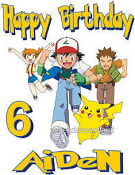 Details About Custom Personalized Pokemon Pikachu Birthday T Shirt Party Favor Add Name Age