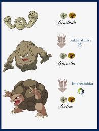 Pokemon Geodude Evolution Chart Evolution Geodude Evolution Chart