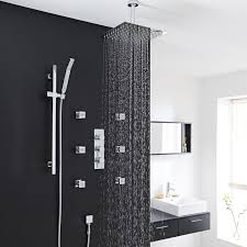 modern shower head recessed bathroom lighting. In Ceiling Shower . Shower. Tile Modern Bathroom Head Recessed Lighting