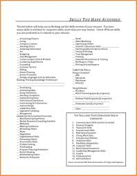 Resume Examples Basic Puter Skills For Of Computer List Ideas To On