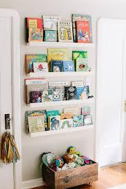 wall mounted bookshelf for nursery off