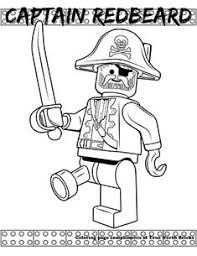 coloring page captain redbeard