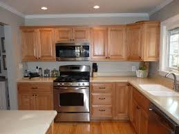 honey maple kitchen cabinets. example of honey maple cabinets with benjamin moore revere pewter paint kitchen l