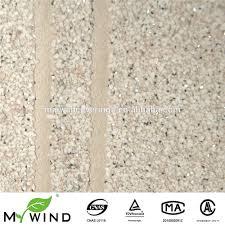 Witte Steen Met Zilveren Glitter Effect Behang Voor Sterren En Luxe
