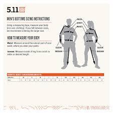 511 Tdu Pants Size Chart Details About 5 11 Mens Taclite Pro Tactical Pants Style 74273 Waist 28 44
