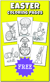 Easter Coloring Pages Gift Of Curiosity