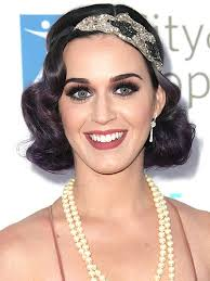 check out katy perrys flapper look here while we loved her frock it was her great gatsby flapper esque soft wave hairstyle that we loved more
