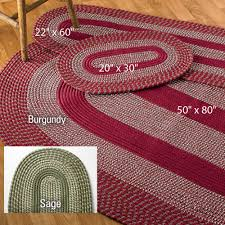 attractive braided rug sets 3 pc ltd commodities