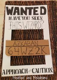 diy wanted azkaban photo prop