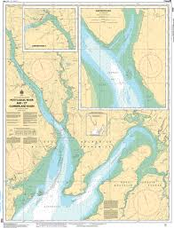 Chs Nautical Chart Chs4130 Petitcodiac River And Et Cumberland Basin
