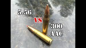 300 Aac Blackout Vs 5 56 Granite Test