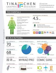 An Infographic Resume Infographic Resume Creator Resume Samples