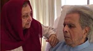 Dilip Kumar returns home, Saira Banu ...