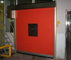 insulated roll up garage doorsFabric Curtain High Speed Roll Up Door Insulated Garage Doors