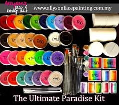 face painting starter kit we know how you feel as a beginner eg not sure what color to which brushes to use which type