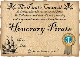 pirate certificates rooftop post printables printable pirate certificate honorary pirate