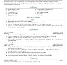 Resume Sample Restaurant How To Write A Waitress Resumes Resume ...