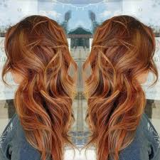 Balayage Hair Red And Blonde