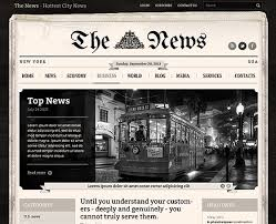 Wordpress Template Newspaper Newspaper Wordpress Theme