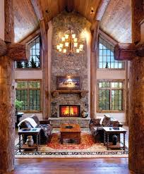 Log cabin interiors designs Rustic Log Cabin Home Décor Ideas Steel Log Siding 19 Log Cabin Home Décor Ideas