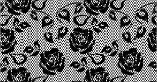 美しい花柄レース織りの背景 Lace Pattern Background イラスト素材 Ai
