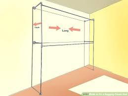 closet rod shelf image titled fix a sagging closet rod step 2 ada closet shelf rod