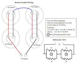 understanding series and parallel wiring in cabinets the overwhelming majority of 4x12 cabs are wired series parallel