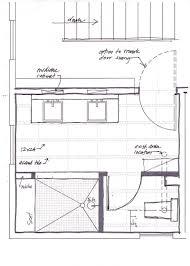 Bathroom Floor Plan On Master Bathroom Floor Plans With Shower - Master bathroom layouts