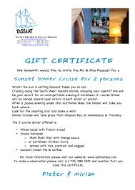 passaat st maarten day sailing passaat sailign st maarten gift certificate