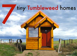 Small Picture 7 Teensy Tiny Tumbleweed Homes for Small Space Living Inhabitat