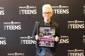 Search For Teens Taco Bell Foundation For Teens And Youtube Star Tyler Oakley
