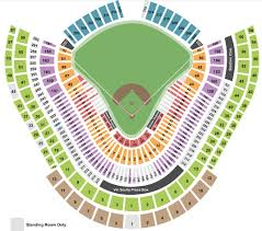 Seating Chart Dodger Stadium Rows Dodger Stadium Tickets With No Fees At Ticket Club