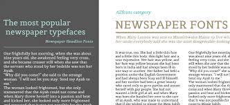 Newspaper Fonts Newspaper Fonts Azfonts Categories