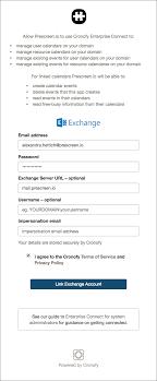 Office Calender Calendar Integration Configuration For Exchange Office