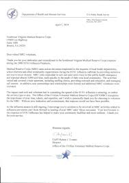 newsworthy notes southwest virginia medical reserve corp letter from capt robert tosatto