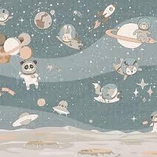 Купить обои Affresco Сказки Affresco от 2490 руб <b>детская космос</b> ...