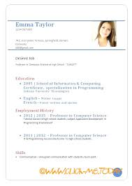 Cv Curriculum Vitae Custom Curriculum Vitae Example For Job Best Ideas Of Excellent Cv Format