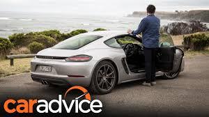 2017 Porsche 718 Cayman S review | CarAdvice - YouTube