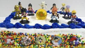 Dragon Ball Z Cake Decorations