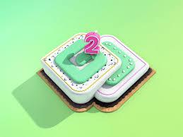 Birthdaycake By Ntrix Dribbble Dribbble