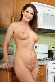 Mature nude white woman