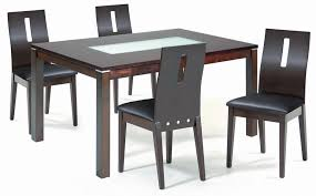 glass top dining table with delta extending glass dining table collection in small glass top dining dark wood