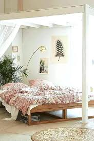 platform bed from urban outfitters bohemian reviews frame diy aspiration simple beds outfitt