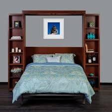 library murphy bed by fusion wall beds