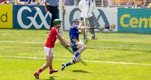 cork s séamus harnedy scores a goal past clare s goalkeeper donal tuohy during the 2018 munster hurling