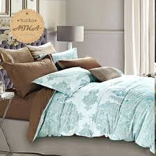 blue damask bedding leopard cotton duvet cover bedding set damask queen size blue and white paisley blue damask bedding
