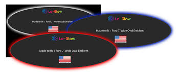 lo glow automotive led lighting accessories Lighted Ford Logo at Illuminated Emblems Ford Wiring Diagram